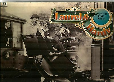"1976 Mono Lp ** Laurel And Hardy ** ""another Fine Mess"""