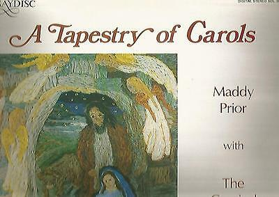 "SAYDISC STEREO LP * MADDY PRIOR with THE CARNIVAL BAND * ""A TAPESTRY OF CAROLS"""