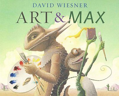 Art and Max by David Wiesner 9781849392679 (Paperback, 2015)