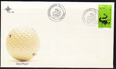 South Africa 1976 Gary Player First Day Cover - Unaddressed#2.20