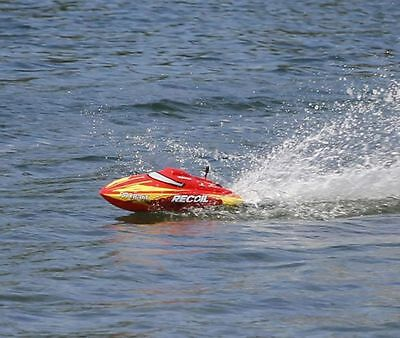 """Recoil 17"""" Brushless Self-Righting Deep-V RTR RC Boat 25+MPH (Watch Video)"""