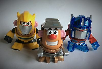 3 X Mr Potato Head'S – Transformers Rescue Bots – Mixable, Mashable Heroes