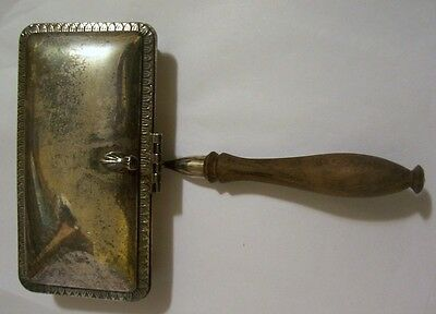 Vintage Silver Plated Silent Butler Crumb Catcher PM Italy