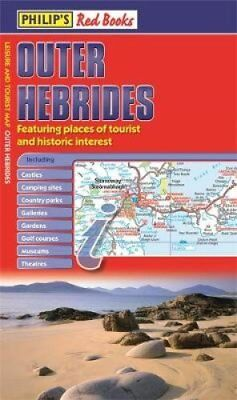 Philip's Red Books Outer Hebrides Leisure and Tourist Map 9781849073233