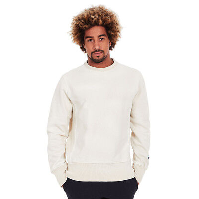 Champion - Crewneck Reverse Weave Enzyme Washed Sweatshirt Vaporous Gray