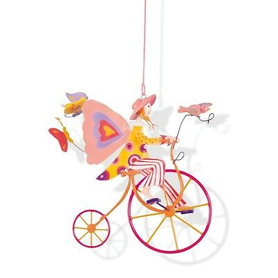 Triplette Mobile Decoration Kid's Room L'oiseau Bateau Bicycle Pink tri0032