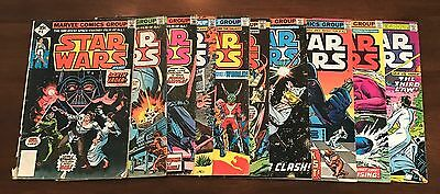 Collection Lot Of (10) Different Marvel Star Wars Comic Books Issue #4 5 6 7 8 9