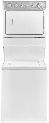 NEW Whirlpool Washer/ Dryer Electric Over Under WETLV27FW