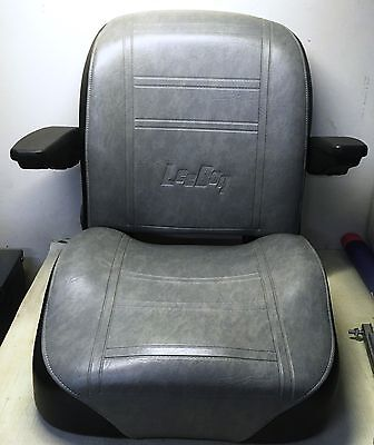 Universal Leeboy Hvy Duty Construction Seat With Flip Up Adjustable Arm Rests