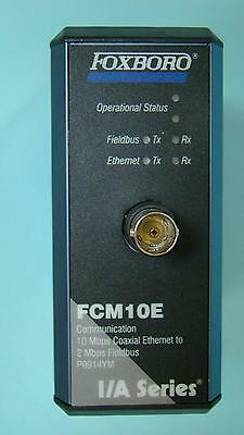 Invensys Foxboro I/A Series P0914YM Module FCM10E 10Mbps Coaxial Ethernet NOS