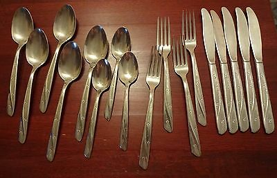 18 Pieces Flatware INSICO Stainless USA