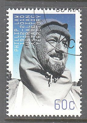 AAT 2012 Philip Law 60c Canceled to order sheet stamp