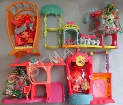 Littlest Pet Shop Random Lot 5 Pcs 1 Playset 3 Accessories w 1 Lps Gift Set