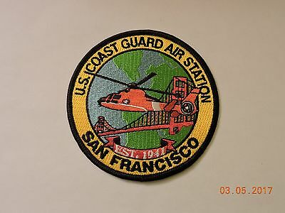 US Coast Guard Air Station San Francisco CA CGAS USCG Military Patch #99
