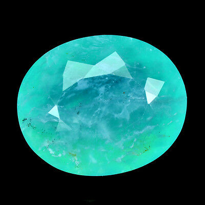 Wonderful Unheated Natural Gems Creammy Paraiba Blue Colour Opal 4.35 Ct Oval
