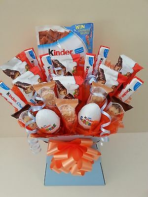 KINDER Suprise Bueno Chocolate Bouquet Sweet Tree Selection Hamper Perfect Gift