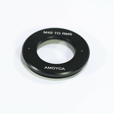 Camera Adapter For RMS 25mm Royal Microscopy Society Lens to M42 Mount Adapter