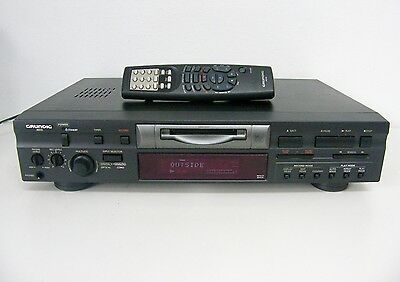 Grundig Minidisc MD50 Player / Recorder & Remote Control - TESTED / WORKING