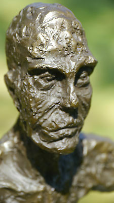 Beautiful Quality Pure Bronze Sculpture Statue Signed Abstract Modern Art