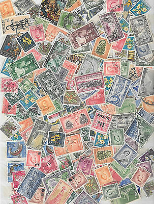New Zealand, Neuseeland,  big lot old pre-decimals, mostly used