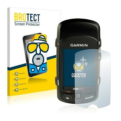 2x Displayschutzfolie Matt Garmin Edge Touring Plus Schutzfolie Folie