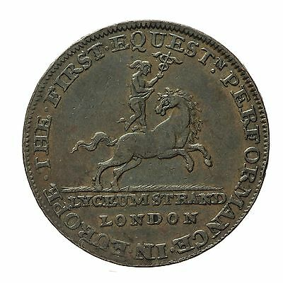 MIDDLESEX LYCEUM HALFPENNY TOKEN  D&H 362a