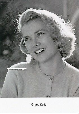 Grace Kelly - jung, Portrait - neuere Postkarte 2