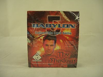 Babylon 5 - The Shadows 12 card booster packs, Collectible Card Game