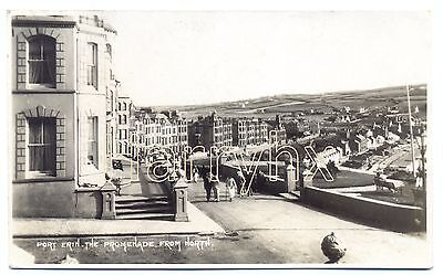 Port Erin, Promenade from the North. Isle of Man