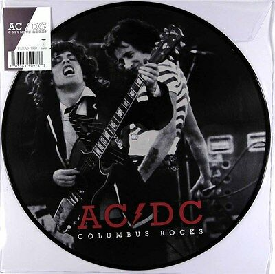 AC/DC - Columbus Rocks - Ohio Broadcast 1978 (Limited Picture Disc LP) New