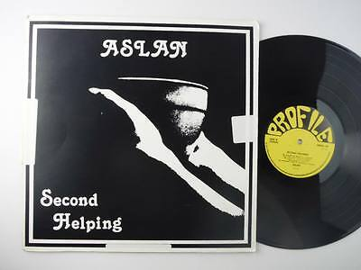 Aslan,Second Helping,Extreamely Rare Original 1st Press,Printers Proof Sleeve,LP