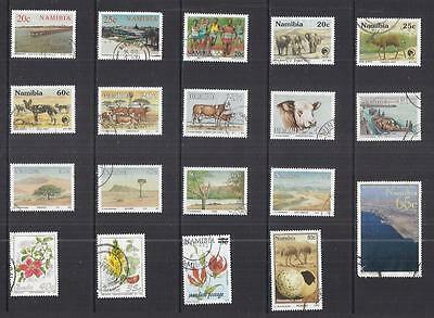 y1807 Nambia / A Small Collection  Early & Modern Used