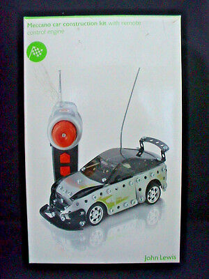 Meccano 0359 Car Construction Set with Remote Control. John Lewis.
