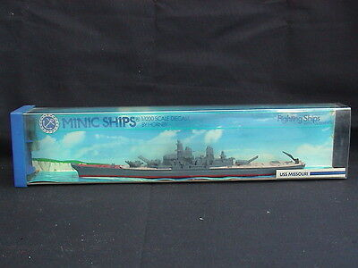Minic Ships by Hornby M743. USS Missouri. Scale 1:1200. Boxed.