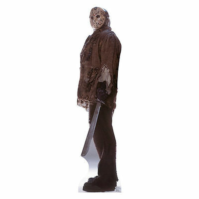 Friday the 13th JASON VORHEES Lifesize Cardboard Cutout Standup Standee Poster