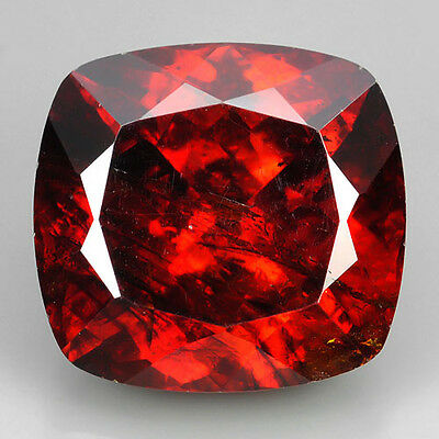 14.34 Ct NICE NATURAL DARK RED COLOR SPHALERITE GEMSTONE~VDO
