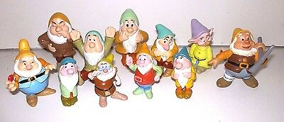 Disney Snow White & The Seven Dwarfs Figures x11 Dwarf Figures