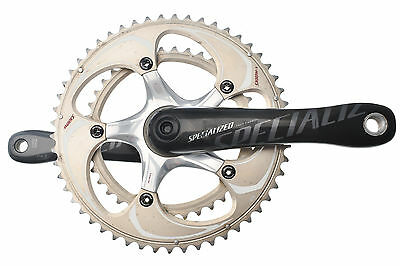 Specialized S-Works Road Bike Crankset 172.5 53/39t Road Bike Crankset Carbon