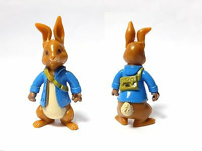 "Vintage 3"" PETER RABBIT Plastic figure Beatrix Potter toy"