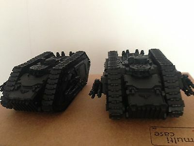 2 Warhammer 30k Forgeworld Spartan Tanks Undercoated RRP £218 Plus 12% Postage