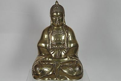 Antique South East Asian Brass Buddha