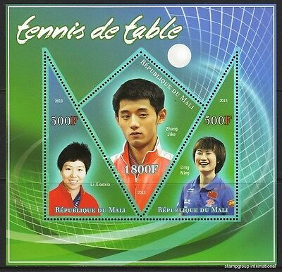 MALI 2013-36 Chinese table tennis players Tennis de table MNH