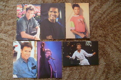 6 Cliff Richard From A Distance The Tour 1990-91 Postcards