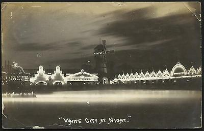 White City, Manchester at Night. Windmill.