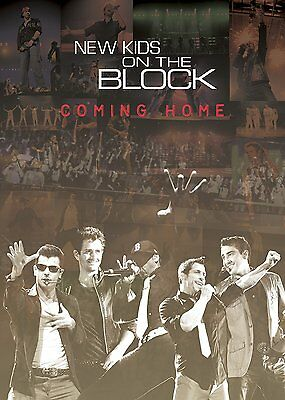 New Kids on the Block Coming Home DVD New in Wrapper