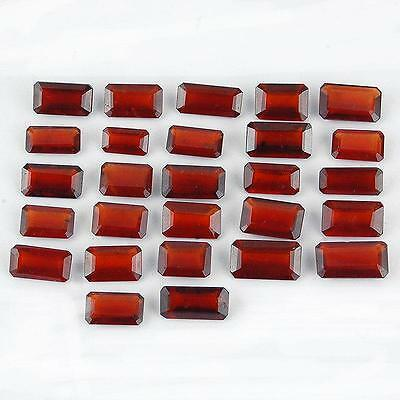 110 Cts/27 Pcs Certified Top Quality Unheated Natural Hessonite Garnet Sri Lanka