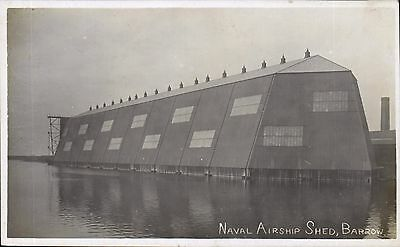 Barrow in Furness. Naval Airship Shed.