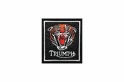 Classic Triumph Tiger Embroidered Motorcycle Patch