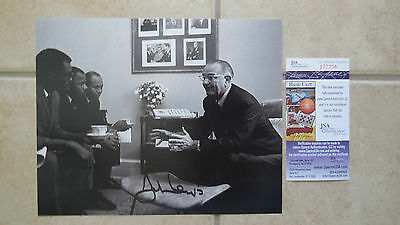 John Lewis Signed Photo 8X10 #11 Jsa Coa J77706 Proof