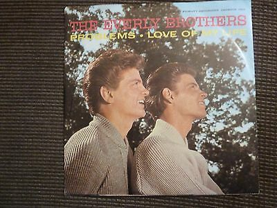 Everly Bros : Problems: Usa Original + Picture Sleeve :near Mint
